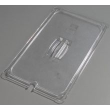 Polycarbonate Clear Universal Full Size Handled Notched Lid Only