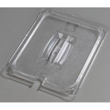 Polycarbonate Clear Universal Handled Notched Lid Only for TopNotch One Half Size Food Pan