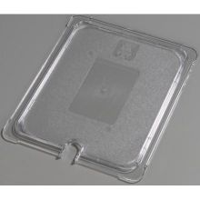 Polycarbonate Clear Universal Flat Notched Lid Only for TopNotch One Half Size Food Pan