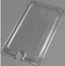 Polycarbonate Clear Universal Flat Notched Lid Only for TopNotch One Third Size Food Pan