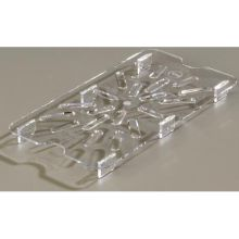Polycarbonate Clear Drain Shelf Only for TopNotch One Quarter Size Food Pan