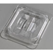 Polycarbonate Clear Universal Handled Lid Only for TopNotch One Sixth Size Food Pan