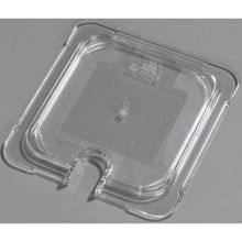 Polycarbonate Clear Universal Flat Notched Lid Only for TopNotch One Sixth Size Food Pan