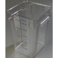 2 Quart StorPlus Polycarbonate Square Food Storage Container