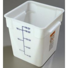 2 Quart StorPlus Polyethylene Square Food Storage Container