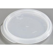 Polypropylene See Thru Round Lid Only