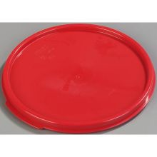 Polypropylene Red Round Lid Only