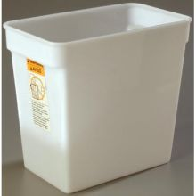 StorPlus Polyethylene White Square Food Storage Container