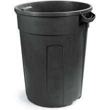 Polyethylene Black FVP Economy Waste Container