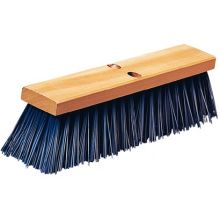 16 inch Heavy Polypropylene Blue Sweep