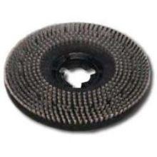 Long Trim Pad Driver Brush - Stiff Polypropylene Bristle Trimmed to 1 inch Long 20 inch Block