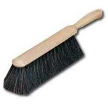 Grey Plastic Block Counter Brush - 8 inch with Horsehair Blend Bristle 2 1/2 inch Trim