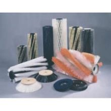 Carlisle Replacement Brush Only for Flo-Pac Sweeper 13 inch - 3 Single Row Nylon Side Bristle Type 36806213