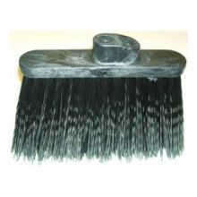 Duo Sweep Warehouse Broom Black Head Only