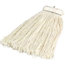 Flo Pac Rayon Kwik On 4 Ply White Yarn Cut End Wet Mop