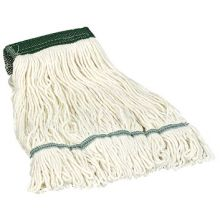 Flo Pac 4 Ply Medium White Rayon Cotton Blend Looped End Wet Mop