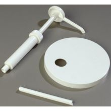 Condiment Pump Lid and 5 inch Dip Tube Set 160 Millimeter