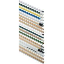 Carlisle Threaded 48 inch Plastic Handle 1 inch Diameter for Floor Drain Brush