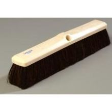 Carlisle Medium Foam Block Floor Sweep - 18 inch with Blended Horsehair-Polypropylene Bristles