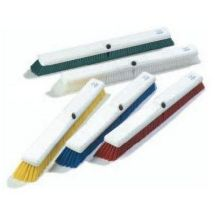 Carlisle Sparta Spectrum Omni Sweep - 18 inch with Color-Coded Synthetic Bristle Plastic Block