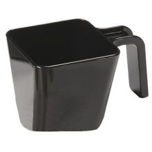 Black Polycarbonate Handled Portion Cup