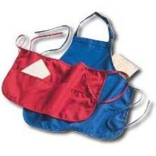 Heavyweight DuraLast 100 percent Polyester Three-Pocket Server Apron with Adjustable Waist bands