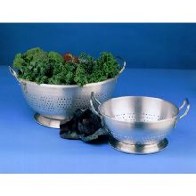 Satin Finish Aluminum Standard Weight Colander