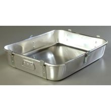 3003 Aluminum Commercial Weight Reinforced Roast Pan with Fab Lug