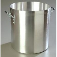 Carlisle Standard Weight Satin Finish Aluminum Stock Pot - 60 Quart