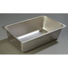 DuraPan 18-8 Stainless Steel Light Gauge Full Size Perforated Food Pan