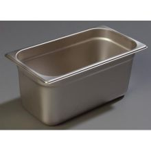 DuraPan 18-8 Stainless Steel Heavy Gauge One Third Size Food Pan