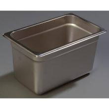 DuraPan 18-8 Stainless Steel Heavy Gauge One Quarter Size Food Pan