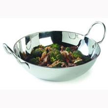 6 inch High Polish 18-2 Stainless Steel Balti Dish