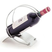 Satin Finish 18-8 Stainless Steel Red Wine Holder