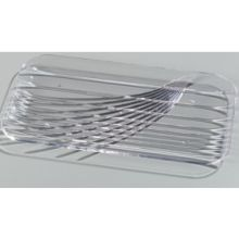 SAN Clear Rectangular Festival Tray