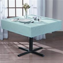 softweave spun filament polyester softweave box corner tablecloth 40 x 40 in form fitted tablecloth for