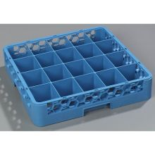 Polypropylene Carlisle Blue OptiClean 20 Compartment Cup Rack