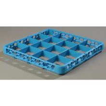 Polypropylene Carlisle Blue 16 Compartment Divided Extender Only
