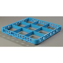 Polypropylene Carlisle Blue 9 Compartment Divided Extender Only