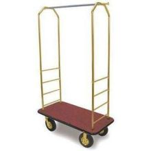 Black Bumper Easy Mover Chrome Bellmans Cart