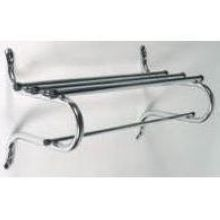 Traditional Chrome Coat Rack 25 to 32 inch