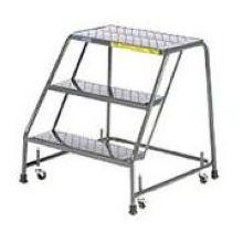 Tough Standard 7 Step Rolling Ladder 24 x 56 inch