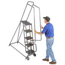 Tough 4 Step Tilt and Roll Ladder 30 x 35 inch