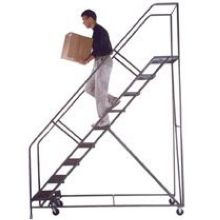 Tough Heavy Duty Stairway 6 Step Slope Ladder