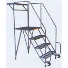 Tough Straddle 3 Step Base Tilt and Roll Ladder
