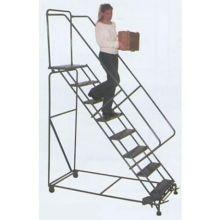 50 Degree Stairway Slope Walk 9 Step Down Ladder 32 x 88 inch