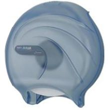 Classic Arctic Blue Single Roll Jumbo Toilet Tissue Dispenser