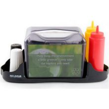 Venue Black Pearl Fullfold Control Face Tabletop Napkin Dispenser