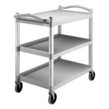 SpeckledGray Knock Down Utility Bus Cart