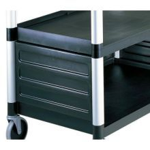 SpeckledGray Single Shelf Panel Set Only